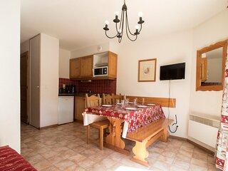 BONB11 - Appartement spacieux  pour 5 personnes au pied des pistes