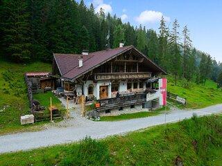 Luxury cottage in Neustift im Stubaital with a sauna