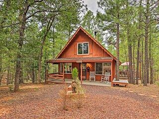 NEW! Show Low Cabin w/ Deck Near Lake & Trailheads