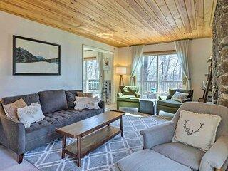 NEW! Cozy Wintergreen Resort Home w/ Fire Pit!