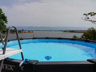 Ljilja - 10m from the sea with parking: A3(2+2) - Nin