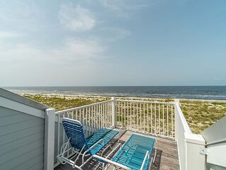 Watch the Sunset, Unobstructed Panoramic Beach view villa on Resort, C1224B