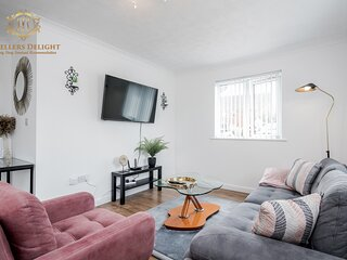 ✯ Stylish House✯3 Bedroom, Upto 7 Guests ☆Prime location ☆ Chafford Hundred