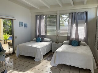 Tropical Kailua Studio on the Water w/Private Pool