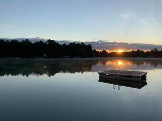 Lake View Long Sunsets on Waupaca Chain O'Lakes #2