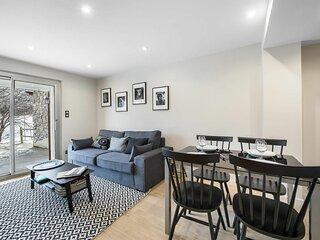 Vanoise 12 : Bel appartement contemporain fonctionnel. Idéal pour les familles.