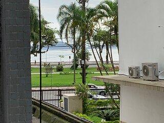 Apartamento em frente a praia - aquario
