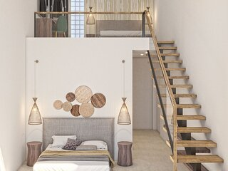 2-Bedroom Attic Apartment with Sea View - Lagoon Luxury Suites