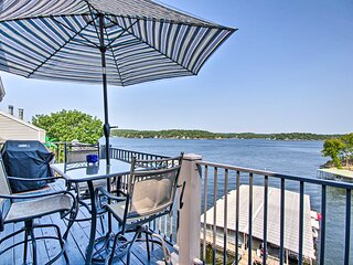 Waterfront Ozark Gem w/ Pool Access & Boat Slip!
