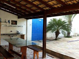 Incrivel casa com churrasq e piscina em Peruibe