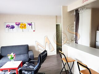 Cozy 2 br  Apartment near Disneyland Paris, Central Val d'Europe