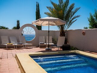 JUST ADDED:   PRIVATE VILLA WITH STUNNING SEA VIEWS 150M TO THE BEACH