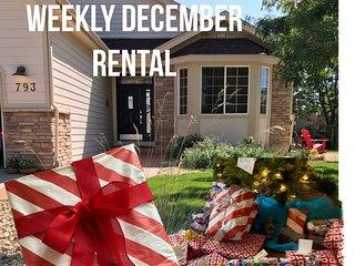 Weekly Holiday Rental in December