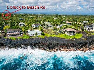 808 Buddha 2 Bedrooms+1 Loft 1 Block to Ocean Cliffs (TreeHouse-Cabin Near Hilo)