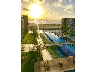 VG FUN Apartamento Luxo vista mar 3 quartos