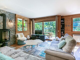 Ambiance cosy, 2 chambres, proche des pistes de ski, WIFI