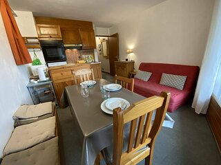 Appartement 2 pièces cabines 5 couchages PRAZ SUR ARLY