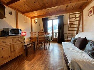 Appartement 2 pièces mezzanine 4 couchages PRAZ SUR ARLY