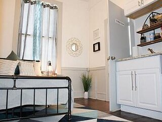 Stylish, Modern, Industrial Fully Furnished Downtown  Micro Loft!