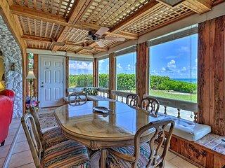 Beachfront Indialantic House w/ Furnished Patio!