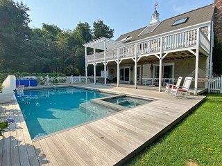 Katama Home with Heated Pool and Hot Tub near South Beach