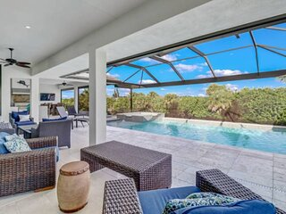 Stunning, Modern, Luxury Dream Home! Gorgeous Outdoor Living Space, Heated Pool,