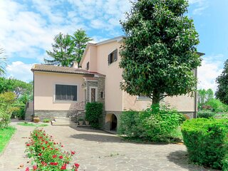 Villa Regina Amalasunta posizione ottimale terrazzo fronte lago, giardino