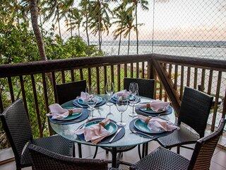 Apartamento luxuoso com vista incrível para o mar