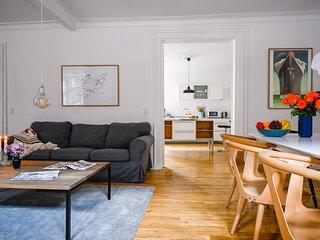 Gorgeous Four-bedroom Apartment in Historical Copenhagen