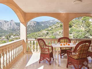 Can Cega - Beautiful house with terrace and views in Bunyola