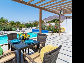 Villa Cangrejita with Private Pool Playa Blanca