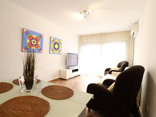 Nice apartment in the heart of Salou. Air-conditioned and close to the beach