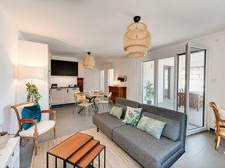 � L'Estrade 4* - Appartement 2 chambres avec vue sur le Lac & garage