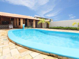 Lindíssima casa na Barra de São Miguel, a 80 metros da praia