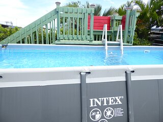 Isabela 3/2 Private Pool AC Ping Pong & Billiard Table Minutes from the beaches