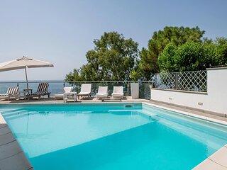 Villa Karim on the sea with private pool