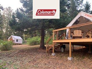 Tentrr Signature Site - Satori Farm Cayenne - Coleman Outfitted Site