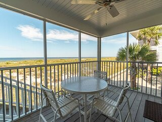 A Fabulous view and only steps from the Pool and the sandy beach.  B1311A