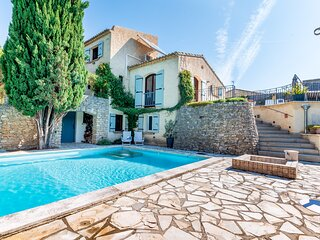 Le Clos du Papoune, private heated pool, wellness, plancha (Drôme/Provence)