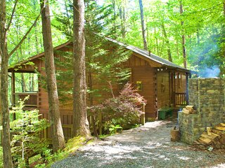 Secluded Sunrise Ridge-10 Min From Blue Ridge, King Beds, Hot Tub, 2 Porches, Fi