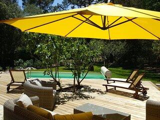 Sud Korsika, Haus mit privatem geheiztem Pool, Strand 235m , Porto-Vecchio,