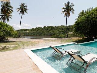 Maravilhosa casa em Milagres, com piscina privativa
