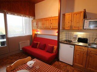 Studio cabine 22.5 m2, oriente SUD, classe 1*