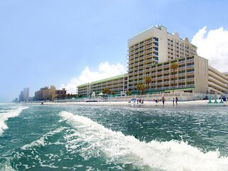 Daytona Beach Oceanfront Beachfront 3 pools resort type condo apartment