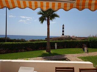 Apartamento 1linea de mar y faro Cap De Artrutx