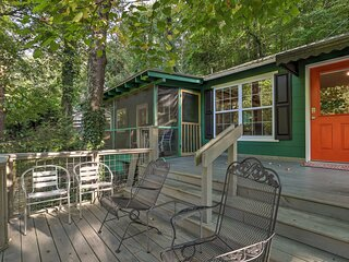 Updated Tryon Cabin on Pacolet River!