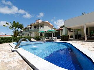 Casa duplex para 8 hóspedes em  Barra de São Miguel