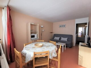 T2 6 personnes, residence Mongie Tourmalet