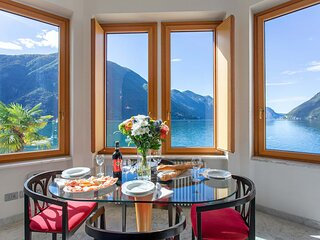 Lake Lugano 1 bed apartment with balcony