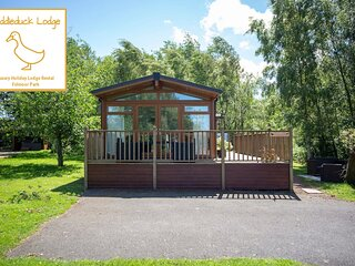 Puddleduck Lodge - Luxury Holiday Lodge in Morpeth